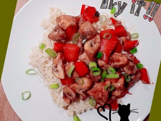 recept kip groenten japan