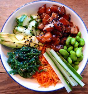 20190427 144613 282x300 - Koken met Heleen: Poké bowl met bloemkoolrijst!