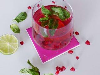 cocktail granaatappel mojito