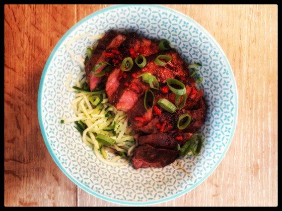 recept biefstuk aziatisch