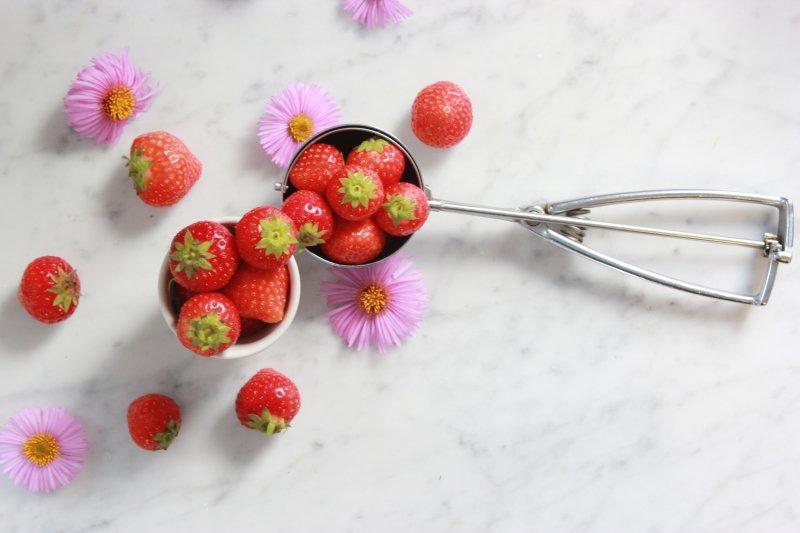 aardbeien limoncello