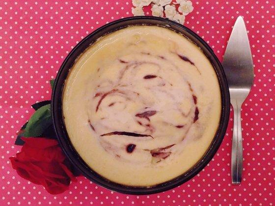 cheesecake frambozen swirl