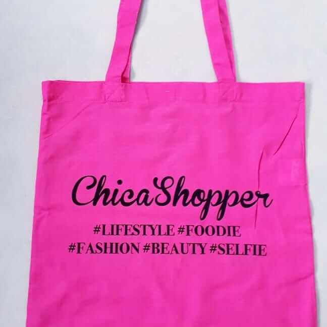 chicamoms canvas shopper