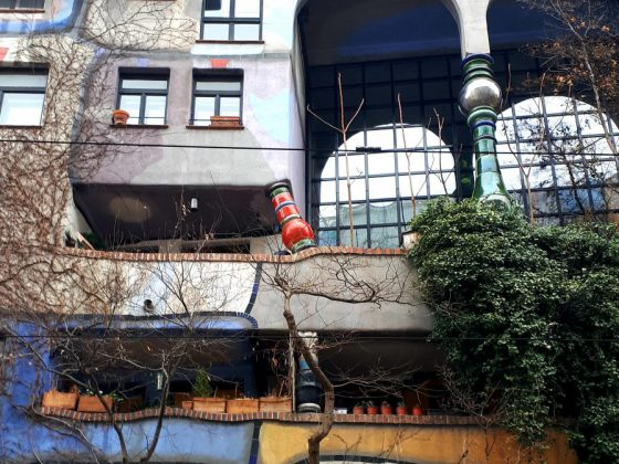 Hundertwasserhaus-Wenen